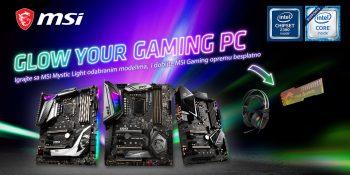 Besplatna MSI Gaming oprema uz odabrane proizvode
