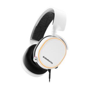 SteelSeries Arctis 5 White (2019 Edition), 7.1, gaming slušalice