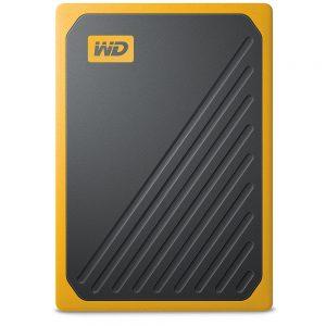 WesternDigital My Passport Go, 500GB, USB 3.0, Amber