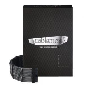 CableMod PRO ModMesh C-Series AXi, HXi & RM Kabelski kit - carbon