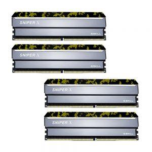 G.Skill Sniper X Digital Camo 32GB (4x8GB) DDR4 memorija, 3200MHz, CL16