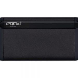 CRUCIAL X8 Portable SSD, 500GB, USB-C, crni