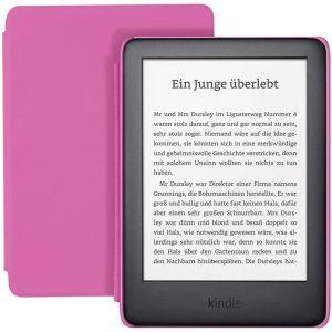 Amazon Kindle Kids Edition, 8 GB, WiFi, e-čitač, rozi