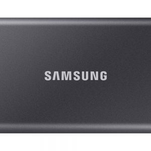 SAMSUNG Portable SSD T7, 500GB, USB-C, sivi