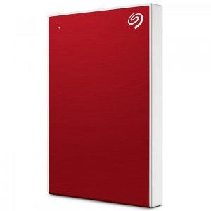 Seagate BackUp Plus Slim, 1TB, USB 3.0, crveni