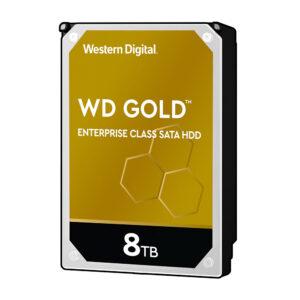 WesternDigital Gold™ Enterprise HDD, 8TB, 7200 RPM, 3.5″