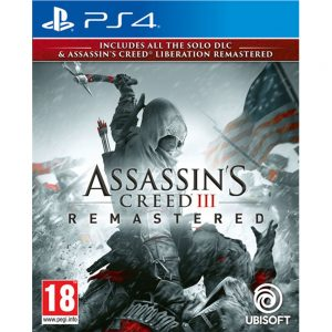 Assassin´s Creed III REMASTERED + Liberation REMASTERED, Playstation 4 igra
