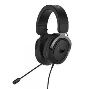 ASUS TUF GAMING H3 SILVER, 7.1, gaming slušalice
