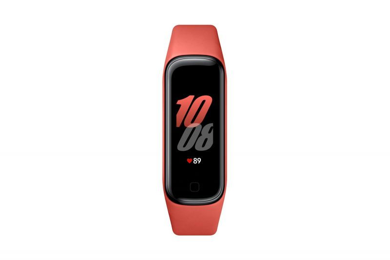 Samsung R220 Galaxy FIT2 pametni sat, crveni