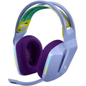 Logitech G733 LIGHTSPEED Lilac, gaming slušalice