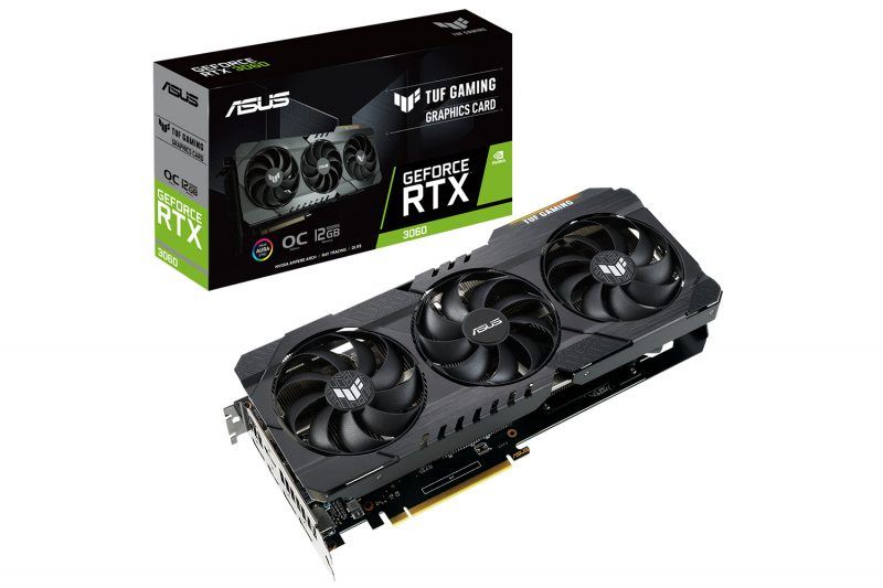 ASUS TUF Gaming GeForce RTX 3060 OC, grafička kartica