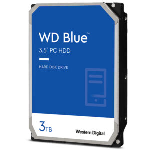 "Western Digital Blue™ PC Desktop, 3TB, 3,5"""