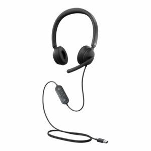 Microsoft Modern USB Headset Black, žične slušalice