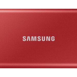 Samsung Portable T7 SSD, 2TB, USB 3.2, crveni