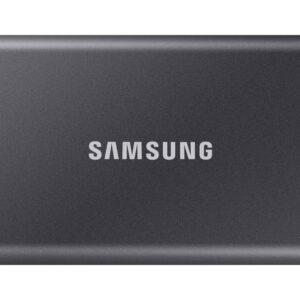 Samsung Portable T7 SSD, 2TB, USB 3.2, sivi