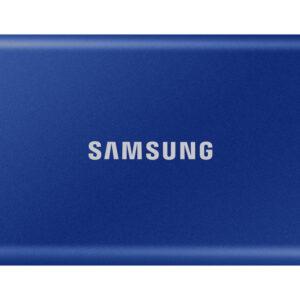 Samsung Portable T7 SSD, 2TB, USB 3.2, plavi